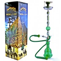 "43"" Inhale India 1CP Hookah Green"