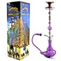 "43"" Inhale India 1CP Hookah Purple"