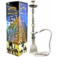 "43"" Inhale India 1CP Hookah White"