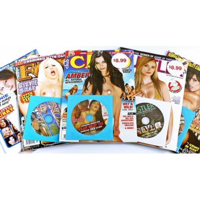 Adult Magazine With DVD Value packed $8.99 - All New 2020-2021