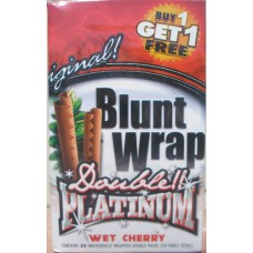 Double Platinum Original Blunt Wraps - Wet-Cherry