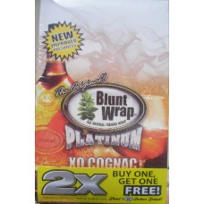 Double Platinum Original Blunt Wraps - Xo Cognac