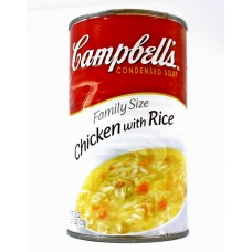 Cambell Chicken With Rice Safe Can