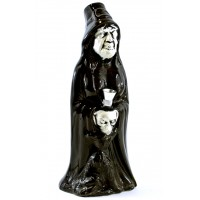 "10"" Ceramic Witch Water Pipe C-9"