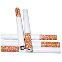 "100ct 3"" Cigarette Style Metal Pipe"