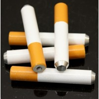 "10ct 2"" Cigarette Style Metal Pipe"