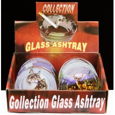 Collection Glass Ashtray Animal Style
