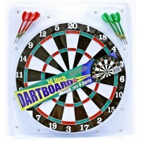 "14"" Dartboard With 6 Darts"