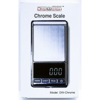 DigiWeigh 1000G x 0.1G Digital Scale DW-1000Chrome