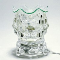 Electric Glass Oil Warmer Clear E-302CL
