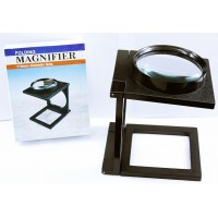 BUY 1 GET 1 FREE Folding Magnifier 110mm Magnifying Glass