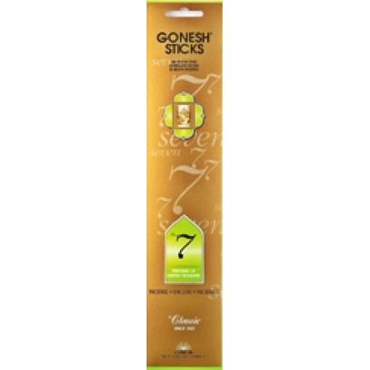12ct Gonesh Classic Stick Incense No. 7 Perfumes Of Earthly Wond