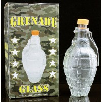 Grenade Glass Liquor Decanter