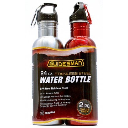 Guidesman 24oz. Stainless Steel Water Bottle