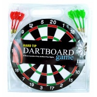 "11.5"" Hard Tip Dartboard Game"
