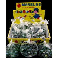 12ct Glass Marbles