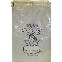 Ice Bags 20lb With Drawstring