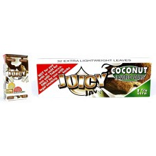 Juicy Jays Rolling Paper - 1 1/4 Coconut
