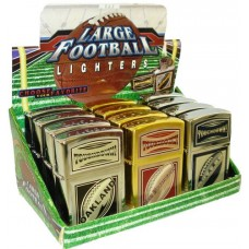 Large Football Lighters 12ct