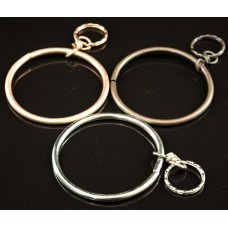12ct Metal Ring Key Chain