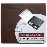 Professional 500G x 0.1G Mini CD Scale HKHC-MD