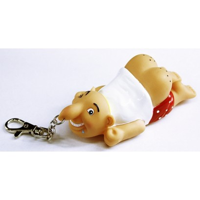 6ct Mr Old Butt Key Chain