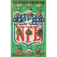 BUY 1 GET 1 FREE NFL Key chain Display