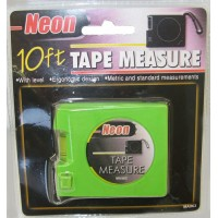 12ct Neon Tape Measure 10ft