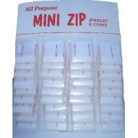 mini zip Bags Light Size  1 1/4 *1  1/4