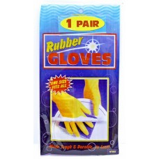 12ct Rubber Gloves