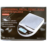 5ct Superior Balance 500G x 0.1G Pocket Scale