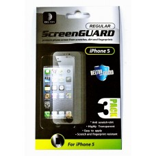 Delton Screen Protector For iPhone 5 3 Pack Regular