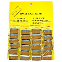 24ct Single Edge Blades