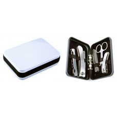 Stainless Steel 6pc Manicure Set