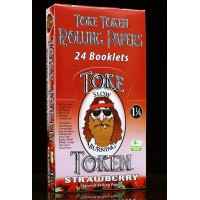 Toke Token Rolling Papers - 1 1/4 Strawberry