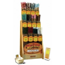 600ct Wild Berry Biggies Incense And Display Kit