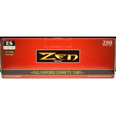 Zen Extra Smooth 250 King Size Cigarette Tubes - Master Case
