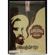 Zig Zag Premium Blunt Wraps- Straight Up