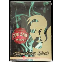 Zig Zag Premium Blunt Wraps- Strawberry Bash