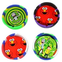 """5ct 3.5"""" Silicone Character Ashtray Assortment"""