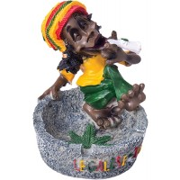 Poly Resin Ashtray - Jamaican Legalize It