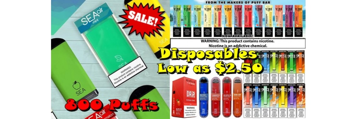 Disposables Sale
