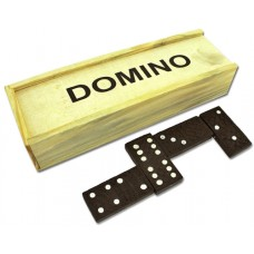 10ct Domino Set in Wooden Box