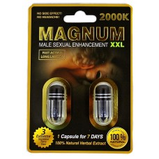 Magnum XXL 2000K Double Pack Male Enhancement Capsules