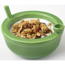 Ceramic Pipe - Roast and Toast Green Cereal Bowl