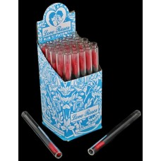 Glass Tube Love Roses 36pc Open End - Large