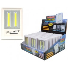 COB LED Wall Switch Light with Dimmer 18pk