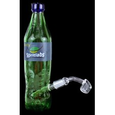"""9"""" Dirty Spritlabs Soda Bottle Oil Rig Water Pipe With Banger"""