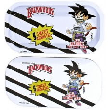 Backwoods Rolling Tray With Magnet Cover - Kid Goku