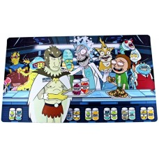 Extra Large Dab Mat Pad - Rick and Morty